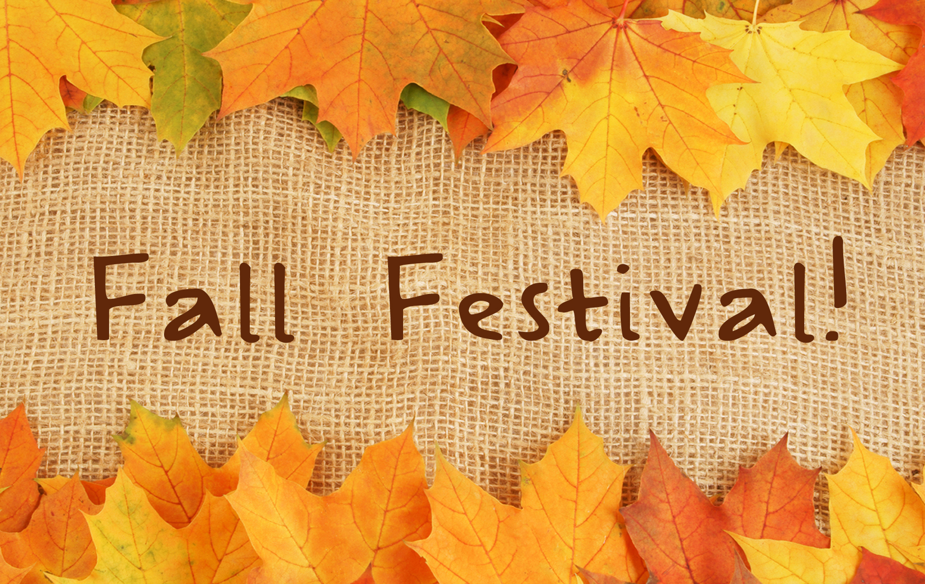 Fall Fest- October 28th, 12-3pm